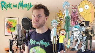 10 Rick and Morty Impressions