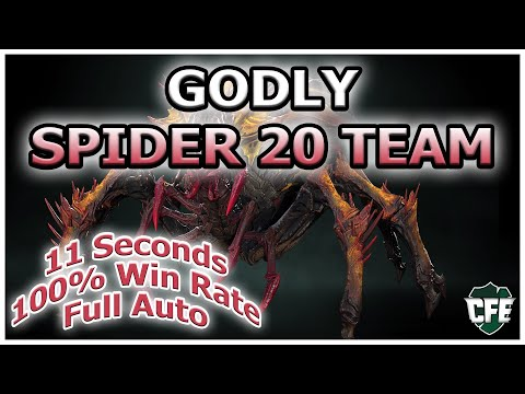RAID Shadow Legends | GODLY SPIDER 20 TEAM | 11 SECS | 100% | AUTO