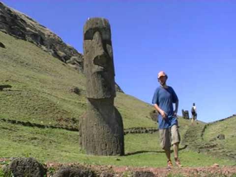 Viaje por Sudamerica di Giacomo Sanesi. Isla de Pascua (CIL). 01327 – rano raraku 2
