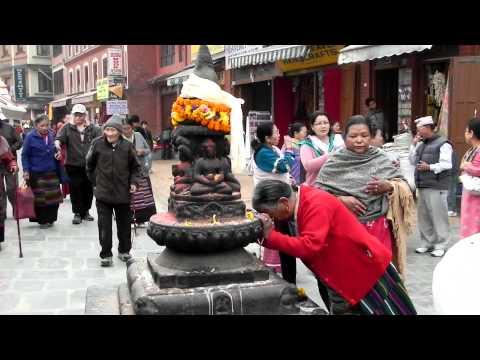 Bouddhanath Temple in Kathmandu, Nepal