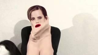 Emma Watson rubber mask