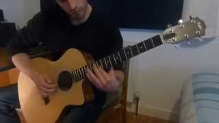 Bloodbath - Hades Rising outro acoustic cover