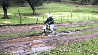 javi y yo con la moto!
