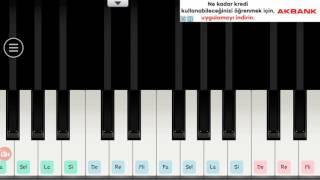 Yedi Güzel Adam Özlem Piyano Versiyonu