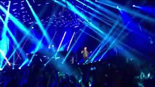 Young again - Hardwell ft. Chris Jones live @ ziggo dome Amsterdam
