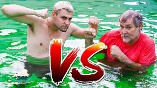 PAI VS FILHO : DESAFIO DA PISCINA !!! width=