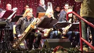 Trojazz Bigband Live @Cologne Cathedral Christmas Market – Jingle Bells