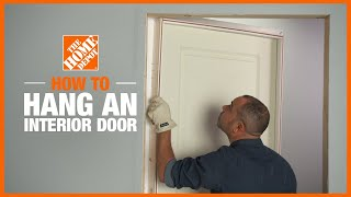 A video describing how to install a door