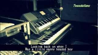 I Wish - Stevie Wonder - Karaoke w. lyrics (cover)