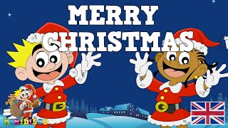 Merry Christmas | Christmas songs for children | Christmas cartoons for kids by Minidisco