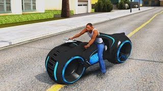 TRON Bike - GTA San Andreas 1440p / 2,7K