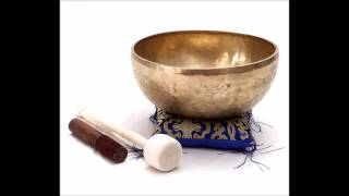 Short Meditation for the Heart Chakra Healing, Tibetan Bowl.