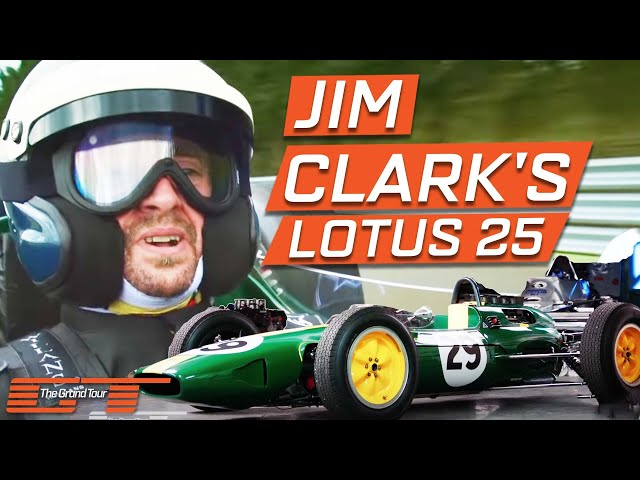 The Grand Tour: Jim Clark's Lotus 25
