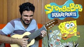 SpongeBob SquarePants Theme - Mini Guitar (Marcos Kaiser)