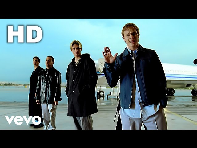 Videoclip oficial de 'I Want It That Way', de Backstreet Boys.