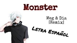 Monster Meg & Dia [remix] letra español