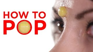 You're Popping Your Pimples Wrong