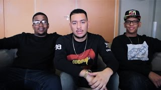 JR, AKA and Da L.E.S talk superheroes