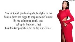Nicki minaj - down in the DM lyrics