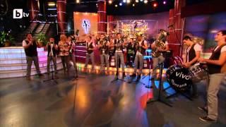 """Vivo Montana in """"Slavi's show"""" on BTV playing Maki, Maki & Kalasjnikov"""