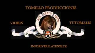 INTRO MGM (Metro Goldwin Mayers) TOM AND JERRY PERSONALIZADA - HD