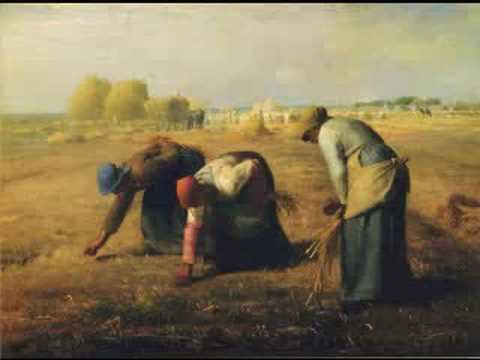 蔣勳導覽米勒Millet - 拾穗  Les Gleanuses Salon (The Gleaners) - YouTube