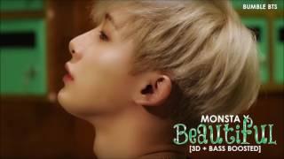 [3D+BASS BOOSTED] MONSTA X (몬스타 엑스) - BEAUTIFUL (아름다워) | bumble.bts