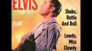 Elvis Presley Shake, Rattle And Roll Stereo Backing Vocals Synch