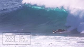 Supsquatch at Makaha - 2015 Ride of the Year Group Entry - XXL Big Wave Awards