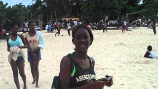 Negril Beach on a local holiday feat. Tonian and Sidney