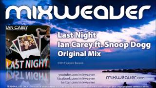 Ian Carey ft. Snoop Dogg - Last Night (Original Mix)