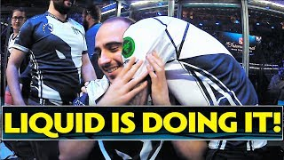 LIQUID IS DOING IT !! #TI7 Dota 2