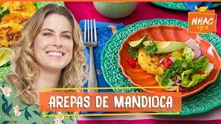 Arepas de mandioca: aprenda a fazer panqueca de aipim   Rita Lobo   Cozinha Prática