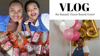 VLOG | RE BASADI VISION BOARD EVENT, GIVEAWAY DETAILS