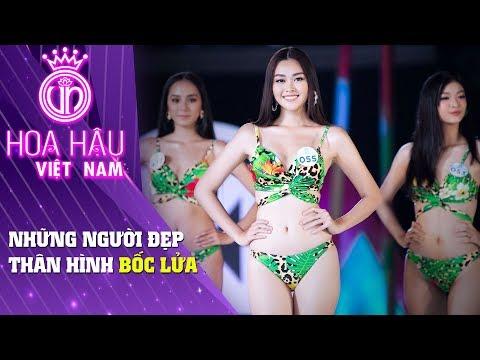 Hoa hậu Việt Nam | Điểm lại những thí sinh có thân hình BỐC LỬA trong phần Bikini