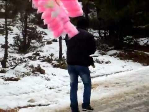 iskenderun atik yaylası üstünden kar manzaraları 25 Aralık 2011
