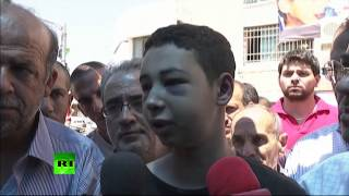 'I'm speechless' Palestinian-US teen beaten by Israeli police under house arrest