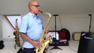 Unchained melody/righteous brothers /Cover on Tenor Sax