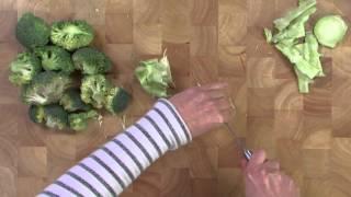 Instructievideo: Broccoli koken