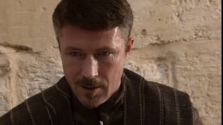 """Ah, the Starks! Quick tempers, slow minds."" Game of Thrones quote S01E03 Petyr Baelish"