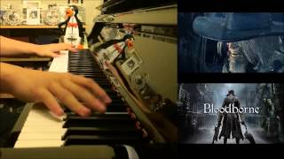 "Bloodborne - ""Father Gascoigne"" Boss Battle Theme (Advanced Piano Cover)"