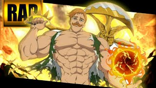 Rap do Escanor | Nanatsu no Taizai | Fast Rap 11 ( prod. BeatBrothers )