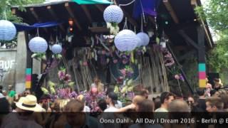 [LIVE] Öona Dahl - All Day I Dream 2016 - Berlin @ ELSE - Video # 1