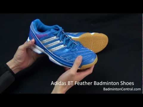 Adidas BT Feather Badminton Shoes - First Look