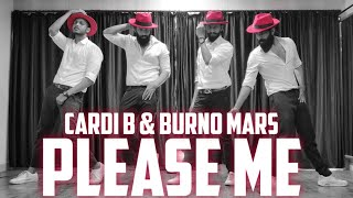 PLEASE ME - Cardi B & Bruno Mars Dance | Ajinkyasingh FT Atul , Ishaan & mangesh