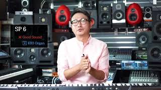 KURZWEIL SP 6 3KB3 Organ 음색 및 설정방법
