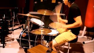 """""""What About Me"""" by the Cribs drum cover"""