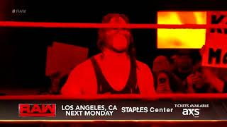 Kane entrance with Slow Chemical theme