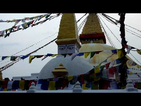 Nepal, the stupa at Baudha