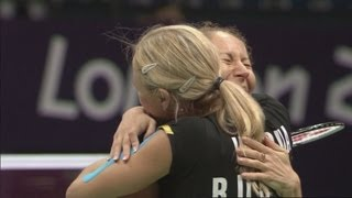 Russia v Canada - Women's Doubles Badminton Bronze Medal Match - Full Replay - London 2012 Olympics